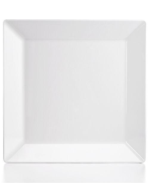 "Q Squared Diamond 14.5"" Square Platter"