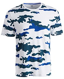 Men's Exploded Camo T-Shirt, Created for Macy's