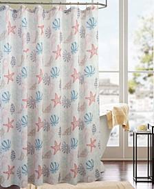 Classic Ocean Printed Shower Curtain