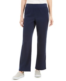 Karen Scott Microfleece Pants, Created for Macy's