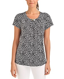 Printed Stretch Top, a Macy's Exclusive