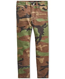 Polo Ralph Lauren Toddler Boys Slim-Fit Sullivan Camo Jeans