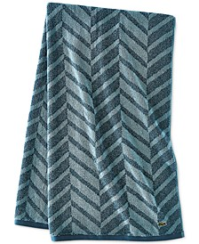"Herringbone Cotton 30"" x 54"" Bath Towel"