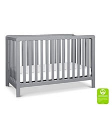 Colby 4-in-1 Low-Profile Convertible Crib