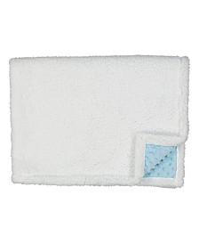 3Stories Baby Mode Signature Infant Popcorn Mink Sherpa Blanket