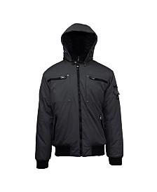 Spire By Galaxy Men's Heavyweight Moto Jacket