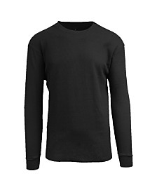 Galaxy By Harvic Men's Waffle Knit Thermal Shirt