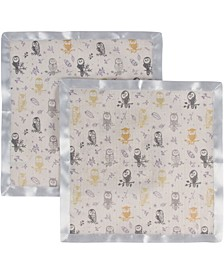 Boys and Girls Muslin Security Blanket - Pack of 2