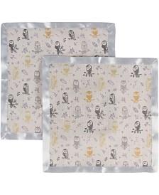 Miracle Baby Muslin Security Blanket - Pack of 2