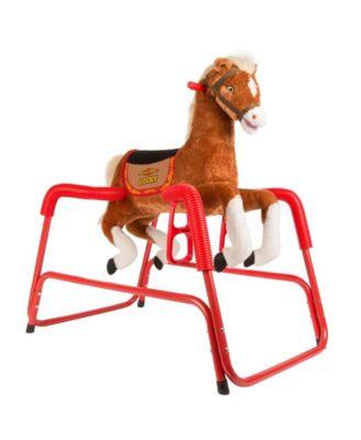 Rockin' Rider Lucky Animated Spring Horse