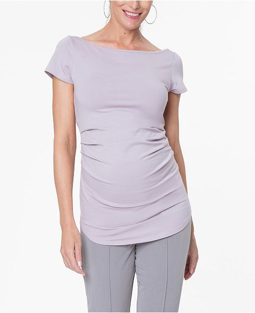 Stowaway Collection Maternity Ballet Tunic Top