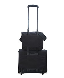 Small Europa with Back Zipper and Compartments