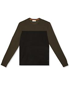 Calvin Klein Men's Merino Colorblock Sweater
