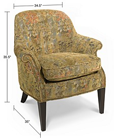 Marche Living Room Chair, Multi Floral
