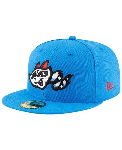 New Era Rocket City Trash Pandas AC 59FIFTY Fitted Cap