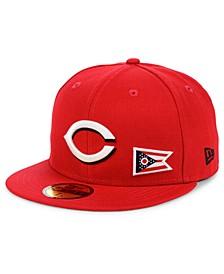Cincinnati Reds Flag Day State 59FIFTY Cap