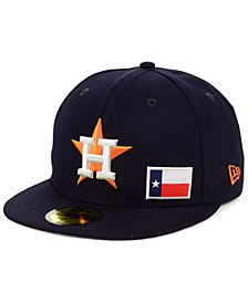 Houston Astros Flag Day State 59FIFTY Cap