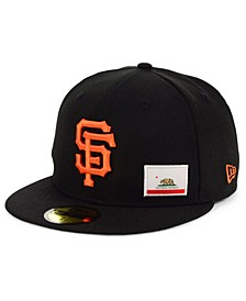 San Francisco Giants Flag Day State 59FIFTY Cap