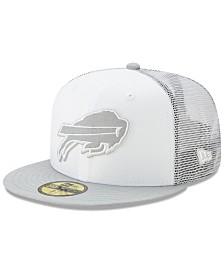 New Era Buffalo Bills White Cloud Meshback 59FIFTY Cap