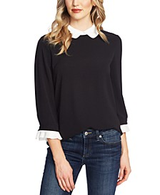 Peter-Pan Collar Top