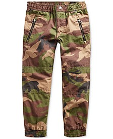 Little Boys Camo Poplin Joggers