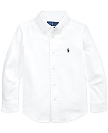 Little Boys Performance Oxford Shirt