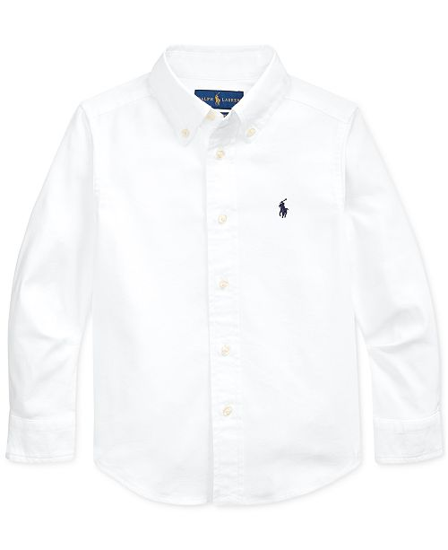 Polo Ralph Lauren Toddler Boys Performance Oxford Shirt