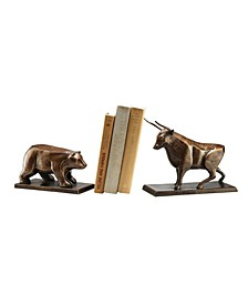 Home Bull and Bear Bookend