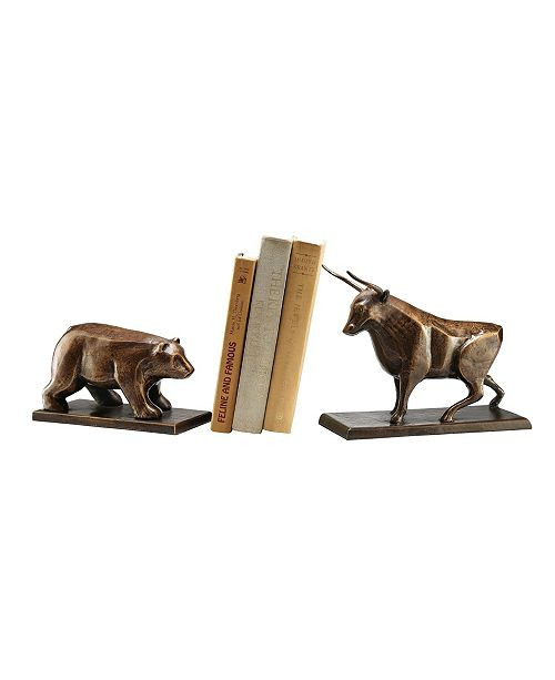 SPI Home Bull and Bear Bookend