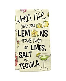 Wit Gifts Tea Towels, Salt Lime Tequila