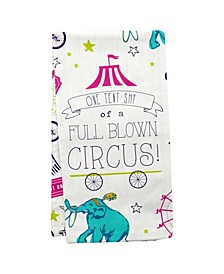 Wit Gifts Tea Towels, Circus