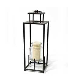 Stratton Home Decor Tall Metal Lantern