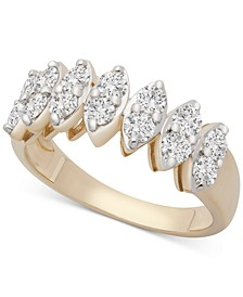 Diamond Statement Ring (1 ct. t.w.) in 14k Gold, Created for Macy's