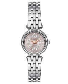 Michael Kors Women's Petite Darci Stainless Steel Bracelet Watch 26mm