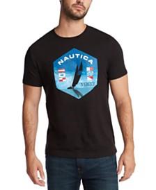 Nautica Men's Sailing Logo Graphic T-Shirt