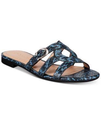 COACH Women's Kennedy Flat Sandals
