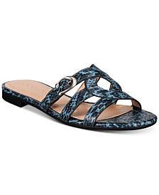COACH Kennedy Flat Sandals