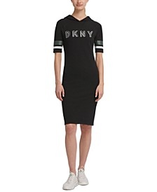 Sport Logo Hooded Dress