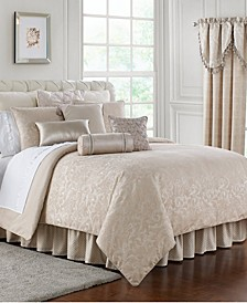 Gisella Reversible Queen 4 Piece Comforter Set