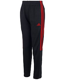 adidas Big Boys Melange & Mesh Pants