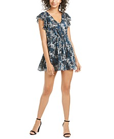 Patrizia Printed Fit & Flare Dress