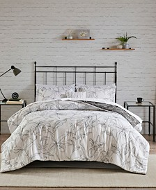 Madison Park Essentials Lilia California King 9-Pc. Reversible Comforter Set