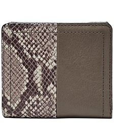 RFID Logan Leather Bifold Wallet