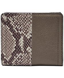 Fossil RFID Logan Leather Bifold Wallet