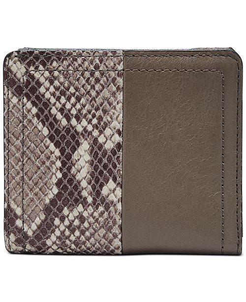 Fossil RFID Logan Leather Bifold Wallet