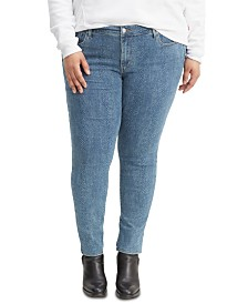 Levi's® Trendy Plus Size  711 Skinny Jeans