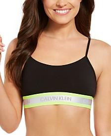 Calvin Klein Women's Neon Unlined Bralette QF5459
