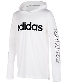 adidas Toddler Boys Logo-Print Cotton Hoodie