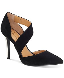 Jessica Simpson Pintra Pointed-Toe Pumps