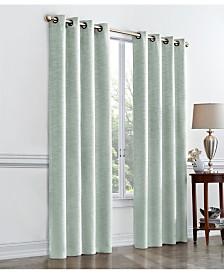 Regal Home Hayden Textured Room Darkening Grommet Curtain